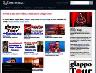 marcotogni.it screenshot