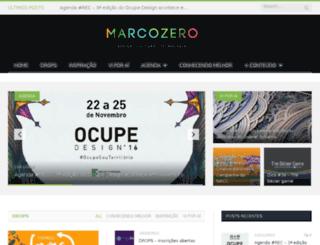 marcozero.rec.br screenshot