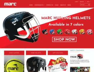 marcsports.ie screenshot