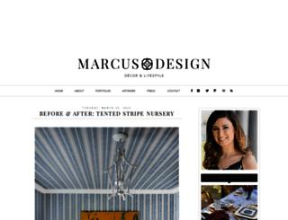 marcusdesigninc.blogspot.ca screenshot