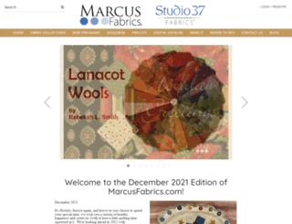 marcusfabrics.com screenshot
