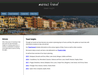 marcustravel.com screenshot
