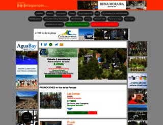 mardelaspampas.com.ar screenshot