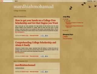mardhiahmohamad.blogspot.com screenshot