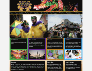 mardigrasday.com screenshot