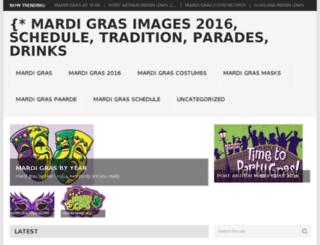 mardigrasdecorations-2016.com screenshot