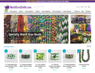 mardigrasoutlet.com screenshot