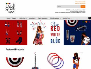 mardigrasspot.com screenshot