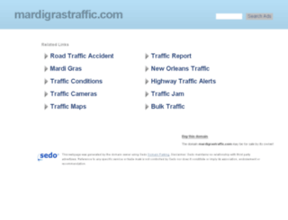 mardigrastraffic.com screenshot