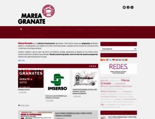 mareagranate.org screenshot