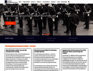 marechausseecontact.nl screenshot
