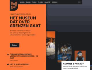 marechausseemuseum.nl screenshot