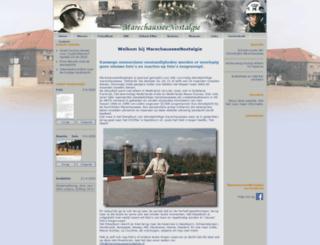 marechausseenostalgie.nl screenshot