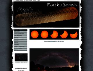 marek-harman.webnode.cz screenshot
