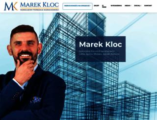 marekkloc.pl screenshot