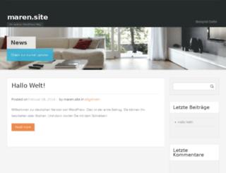 maren.site screenshot