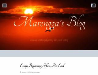 marengga.wordpress.com screenshot