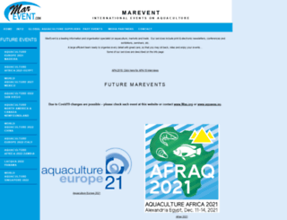 marevent.com screenshot