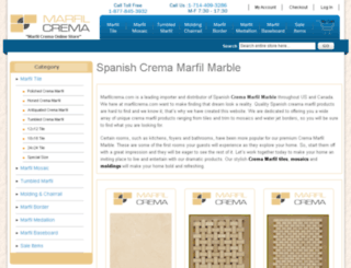 marfilcrema.com screenshot