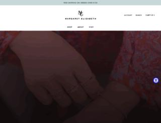 margaretelizabeth.com screenshot