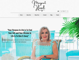 margarethirsch.co.za screenshot