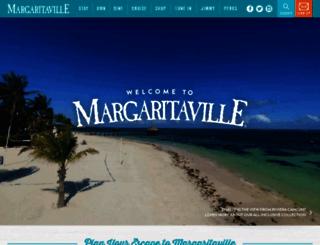 margaritaville.com screenshot