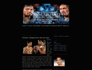 margarito-vspacquiao.blogspot.com screenshot