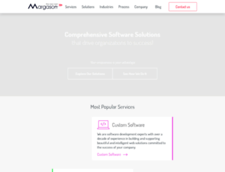 margasoft.com screenshot