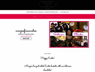 margiesfinecandies.com screenshot