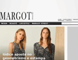 margotmagazine.com.br screenshot