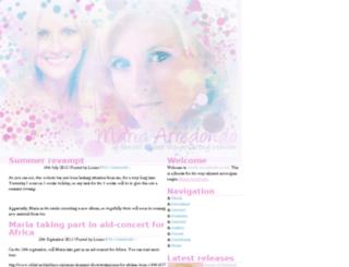 maria-arredondo.co.uk screenshot