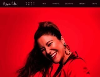 maria-rita.com screenshot