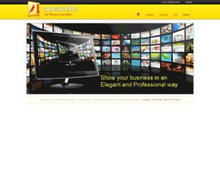 mariaangelicanarvaez.amawebs.com screenshot