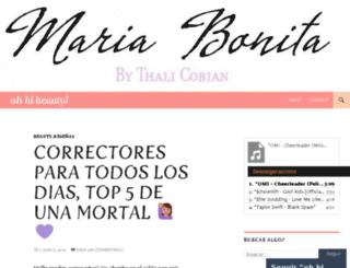mariabonitabythalia.com screenshot