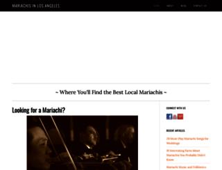 mariachisinlosangeles.com screenshot