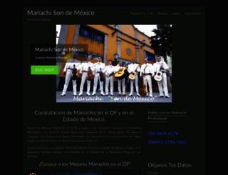 mariachisondemexico.com.mx screenshot
