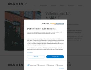 mariaf.dk screenshot