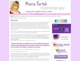 mariafurtekhypnotherapy.com screenshot