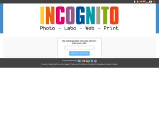 mariage.incognito.fr screenshot