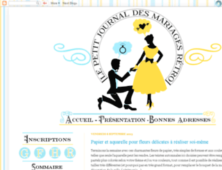 mariages-retro.blogspot.com screenshot