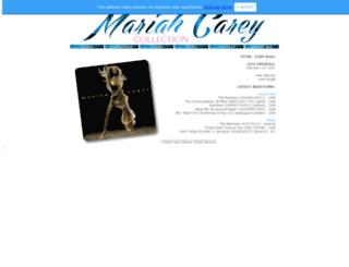 mariahcarey.pl screenshot