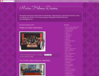 mariahelenadecora.blogspot.com.br screenshot