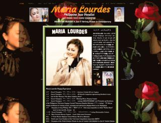 marialourdesjazzer.webs.com screenshot