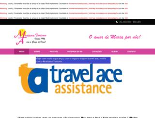 mariamaturismo.com.br screenshot