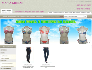 mariamodas.com screenshot