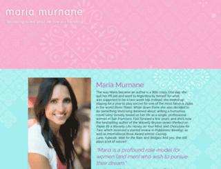 mariamurnane.com screenshot