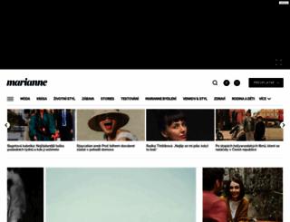 marianne.cz screenshot