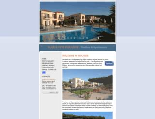 marianthiparadise-molivos.com screenshot