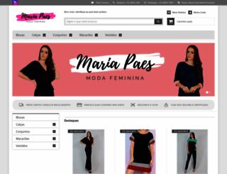 mariapaes.com.br screenshot