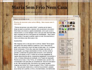 mariasemfrionemcasa.blogspot.com screenshot